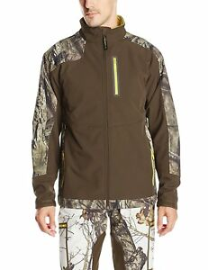 Yukon-Gear-Mens-Windproof-Soft-Fleece-Jacket-Mossy-Oak-Break-Up-Country-3XL-5997