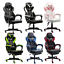 racing computer gaming chair ergonomic office chair recliner high-back swivel us