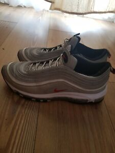 Details about Nike Air Max 97 OG Silver Bullet Size 9