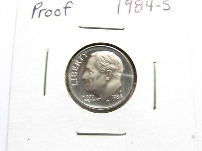 1984 S Roosevelt  *PROOF*  Dime  **FREE SHIPPING**