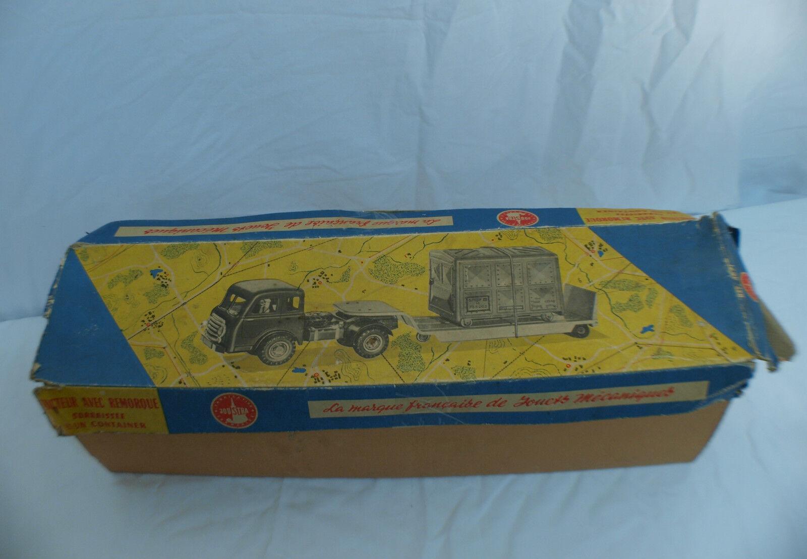 Joustra n° 467 tracteur avec remorque surbaissé boîte seule box only