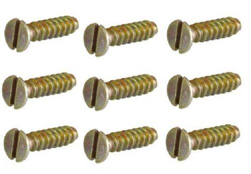 Geräteschrauben für Schalter und Steckdosen