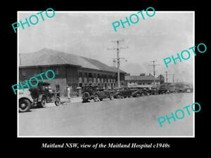 Details about OLD POSTCARD SIZE PHOTO OF MAITLAND NSW VIEW OF MAITLAND  HOSPITAL c1940s
