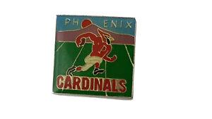 PHOENIX CARDINALS NFL Lapel Hat Pin Football Vintage G1
