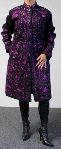 taille Édition Manteau en brodé laine limitée européen d'hiver grande qF0wrW1Ut0