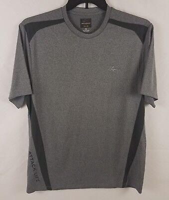 Activewear Tops Active Greg Norman For Tasso Elba Men's Attack Life Performance Shirt 41714100 Mild And Mellow