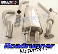 Milltek Leon Cupra 1.9 TDI Exhaust System Downpipe & Cat Back Non Res Discrete