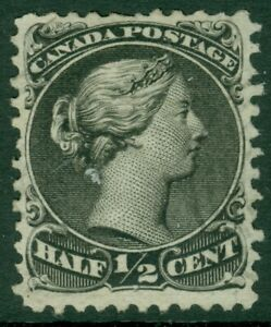 EDW1949SELL : CANADA 1868 Scott #21 Very Fine, Used. Light cancel. Catalog $80.