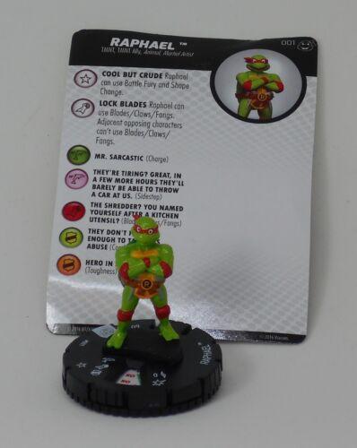 Heroclix TMNT Heroes in a Half Shell # 001 Raphael