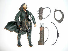 LOTR ARAGORN STRIDER Action Figure Fellowship of the Ring FOTR COMPLETE