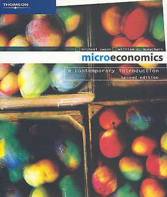 Microeconomics: A Contemporary Introduction by Sir Michael Swann, William A...