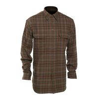 Deerhunter Bradley Long Sleeve Shirt With Bamboo - Red Check - 8674