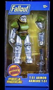 Fallout 76 Power Armor T 51 T51 Buildable Action Figure Armure Mega