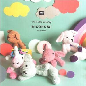 Ricorumi Magic Amigurumi Figuren Häkeln Einhorn Teddy Hase Hund