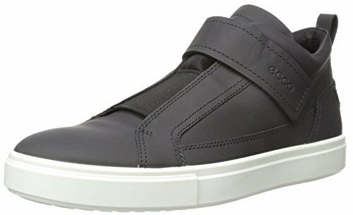 a054dea68844 ECCO Men s Kyle Sz US 12 M   EU 46 Black Leather Mid Cut SNEAKERS Shoes for  sale online