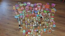 Huge Lot of 95+  Littlest Pet Shop LPS   plus lots of accessaries