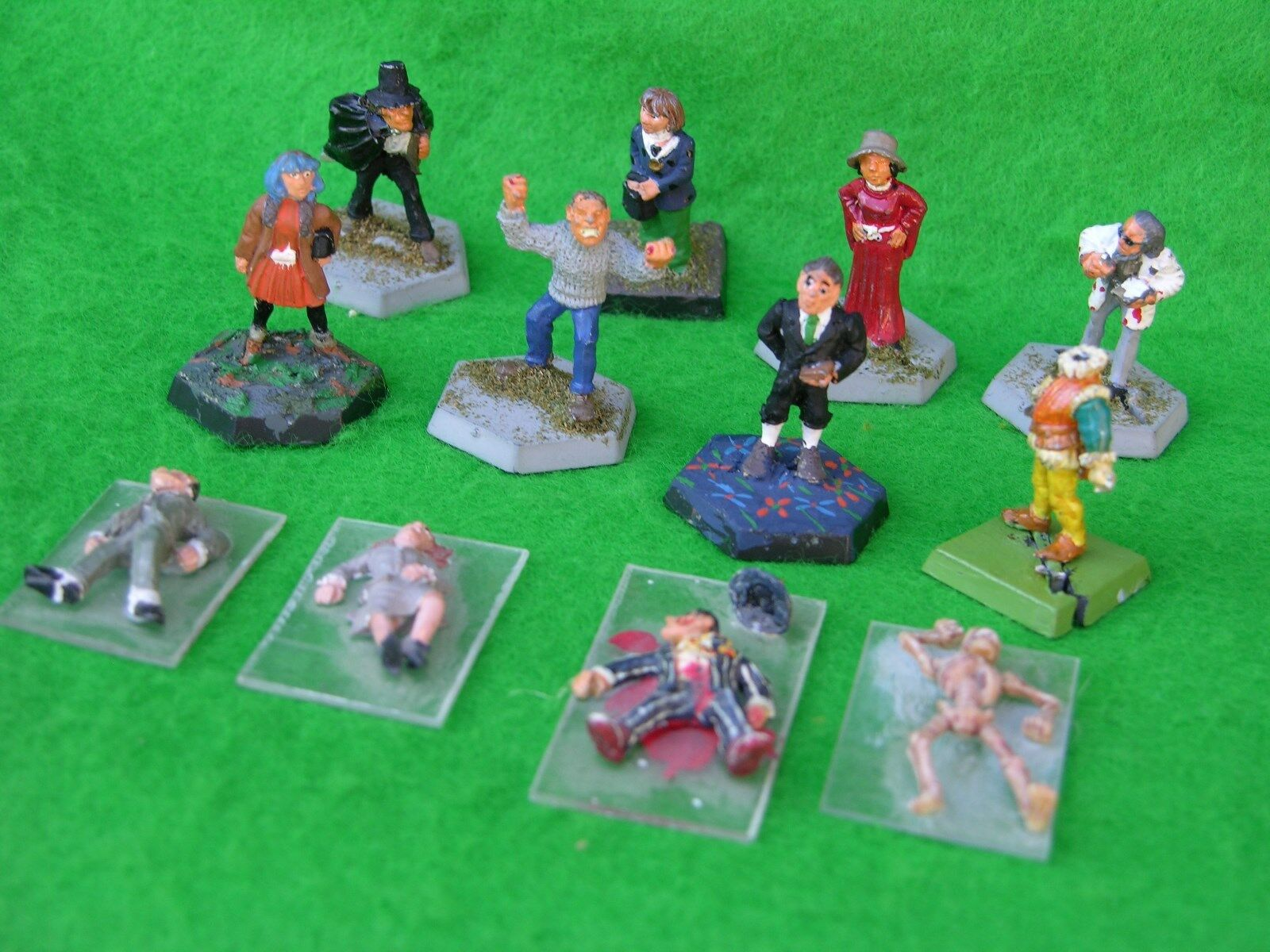 CALL OF CTHULHU , GOTHIC GOTHIC GOTHIC HORROR, CHARACTERS, CITADEL,GW, PAINTED, MULTI-LISTING c59143