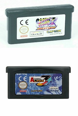 Super Street Fighter 2 Alpha 3 Cartridge Card For Game Boy Advance