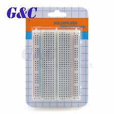 3pc Mini Solderless Breadboard 400 Point Holes Protoboard PCB Test Board 83x55mm