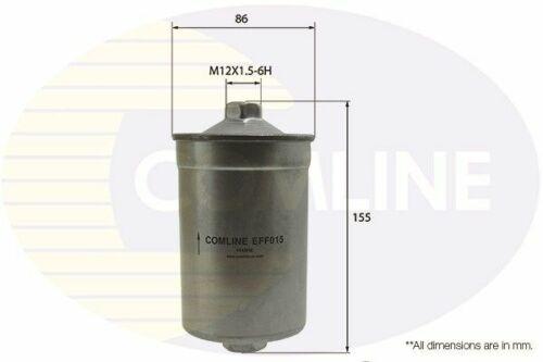 Filtro de Combustible para Ford Sierra 1.8 1.9 2.0 2.8 2.9 82 /> 93 gasolina Comline