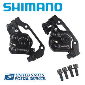 Shimano Tourney TX805 Disc Brake Caliper w Resin Pads Front Rear Upgrade BR M375