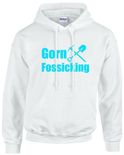 Gorn Fossicking Jumper cotton Heavy Blend Australia warm funny Hoody Crystal gem