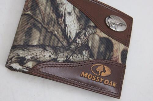 ZEP PRO MARLIN FISH Mossy Oak Camo  Bifold Wallet Tin GIFT Box