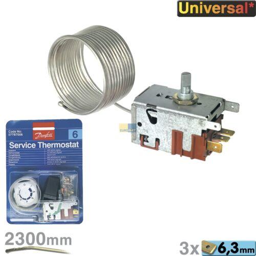 Danfoss Thermostat 077B7006 077B2077 Nr.6 2300mm Congélateur Aktivem Signal