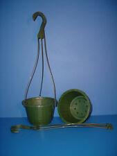 "Lot of 5 New 6""inch Elite Hanging Plastic Flower Nursery Pots Baskets"