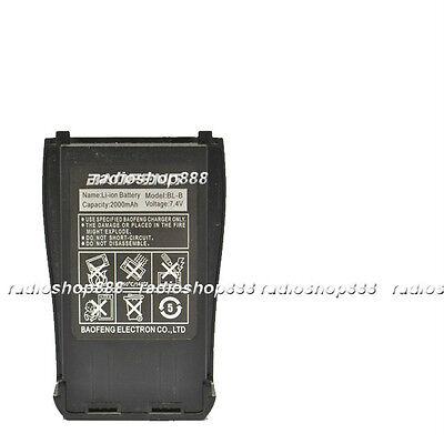 BL-B battery 7.4V 2000mah for Baofeng UV-B5 UV-B6 dual band