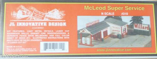 1:160th Scale JL Innovative Design N #310 McLeod Super Service Building Kit