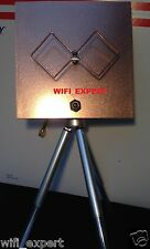 WiFi Antenna Biquad Mach 3b Tripod Wireless Booster Long Range Get Internet