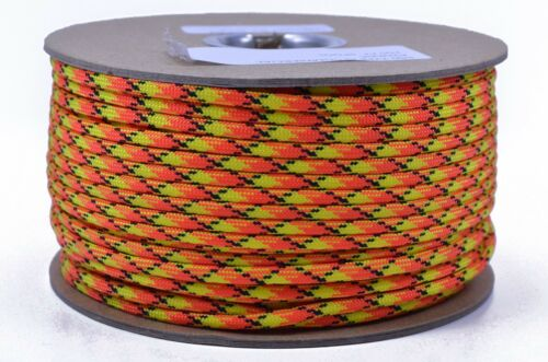 250 Feet Spool Atomic Bored Paracord Brand 550 Type III Paracord