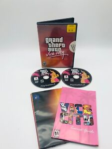 Grand Theft Auto: Vice City Stories Double Pack (Sony PlayStation 2, 2007) PS2