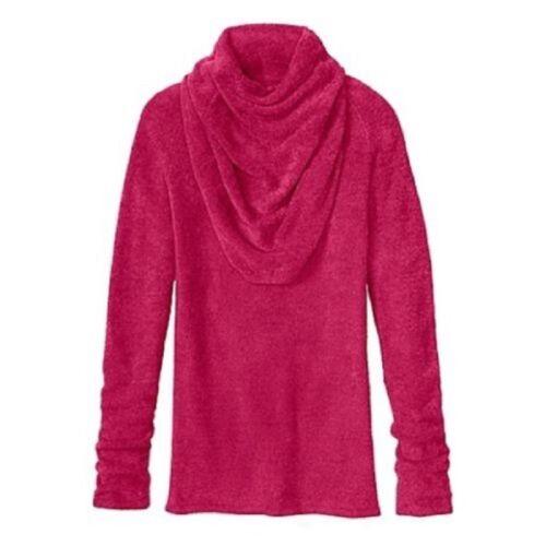 ATHLETA WOMENS  SOFT COZY COCOON COWL NECK  SWEATER TOP $98.00 NEW XXS