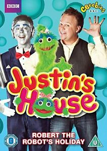 Justin-039-s-House-Robert-The-Robot-039-s-Holiday-DVD-Region-2