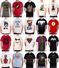 Men's Superhero T Shirts Batman Superman Joker The Flash new official DC Comics