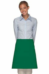Daystar-Aprons-1-Style-115-Two-patch-pocket-half-bistro-apron-Made-in-USA
