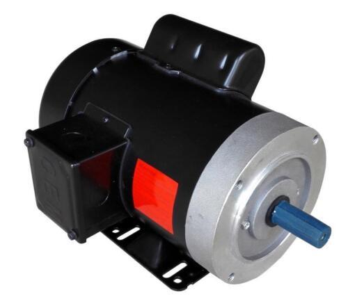 Rolled Steel Farm Duty AC Motor 1//2HP 1800RPM 56C Removable Feet Single Phase