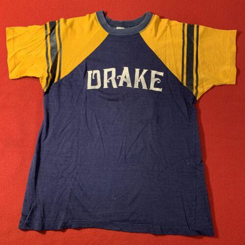 Vintage Champion 60s Drake Univ T Shirt XL(fits L)