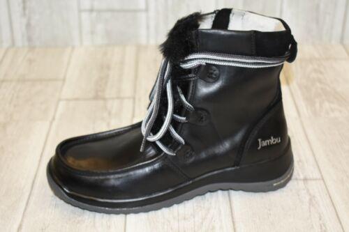 Jambu Denali Waterproof Leather Ankle Boots Black NEW Women/'s Size 6.5M