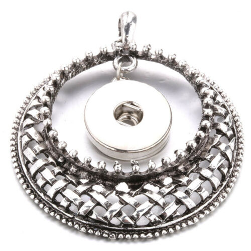 New Pendant Fit for Noosa Necklace Snap Chunk Button Fashion Jewelry N190