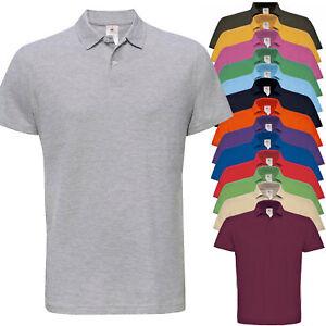 f3fe248429 Dettagli su Polo Manica corta Uomo polo maniche corte Maglietta Maglia  T-Shirt 100% Cotone