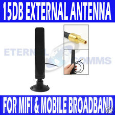 NEW 15db TS9 EXTERNAL ANTENNA HUAWEI E586 E5332 E5776 E353 E589 E5756 E392 MF80