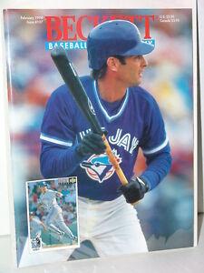 MLB-Beckett-February-1994-Issue-107-Paul-Molitor-Toronto-Blue-Jays-MINT