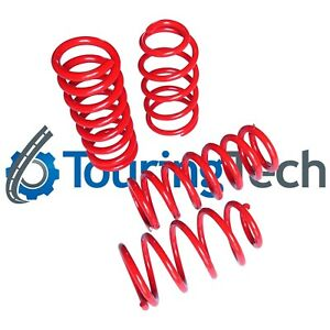 Touring Tech Lowering Springs Charger Magnum 300C 1.8F//1.9R Red