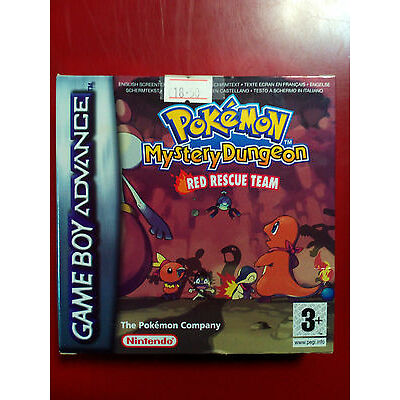 Pokemon: Mystery Dungeon - Red Rescue Team (GameBoy Advanced) BRAND NEW Unsealed