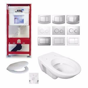 tece sp lkasten vorwandelement mit wc keramik allia paris dr ckerplatte tp1 ebay. Black Bedroom Furniture Sets. Home Design Ideas