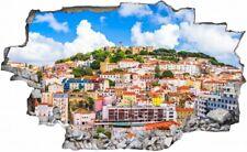 Wandtattoo Lissabon Skyline uss040 Portugal Wandaufkleber Wandsticker Flur