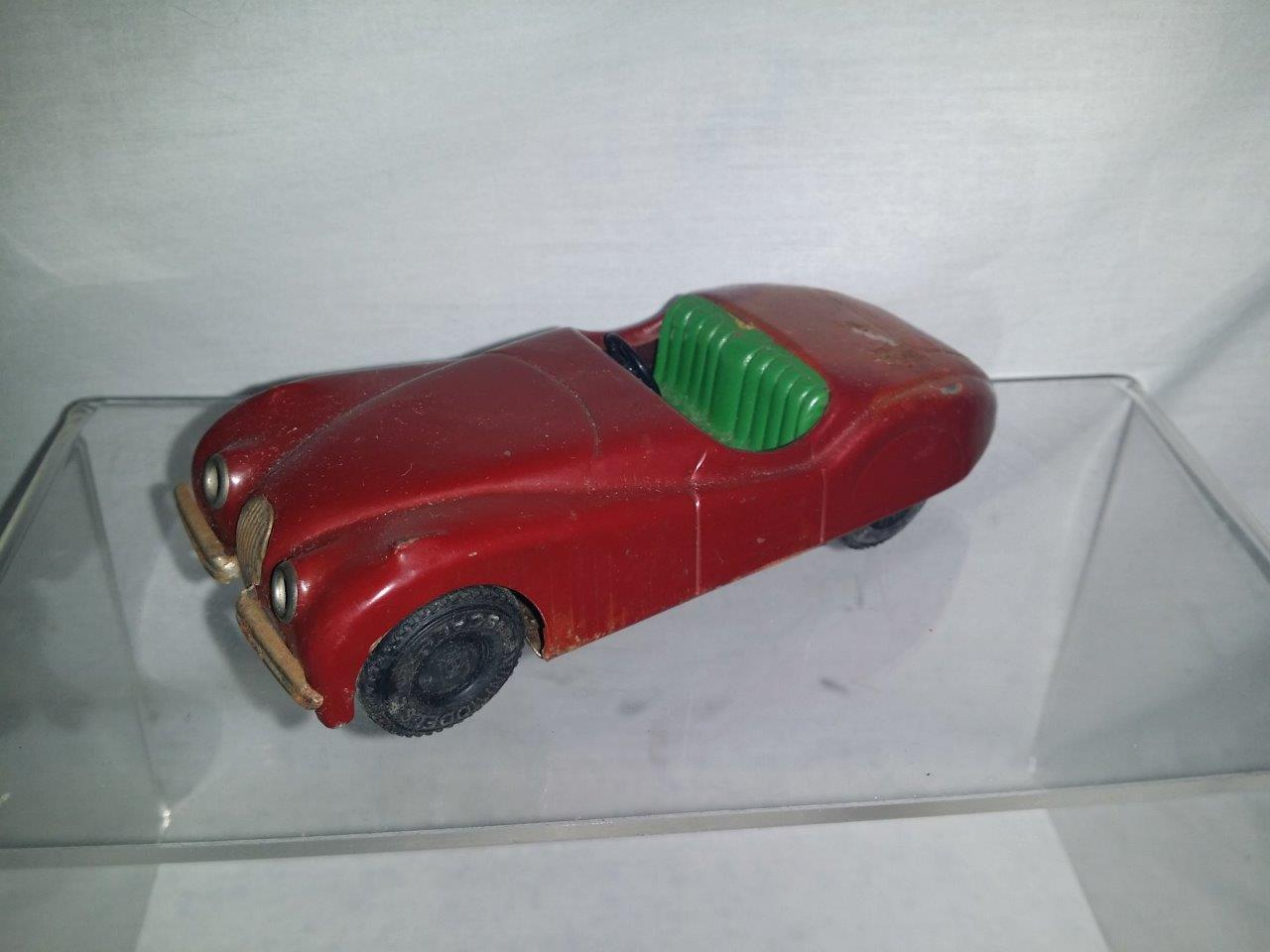 MINIMODELS SCALEX TIN PLATE XK JAGUAR 1950'S VERY RARE COLOUR NICE UNBOXED